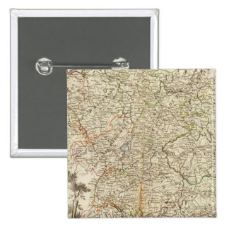 Eurupoe Postal Roads 15 Cm Square Badge