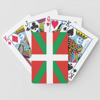 Euskadi Flag Bicycle Playing Cards