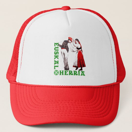 Euskal Herria: traditional Basque dancers, Trucker Hat