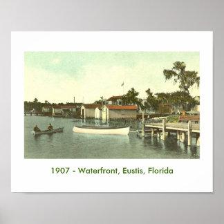 EUSTIS, FL  - Waterfront, 1907 Poster