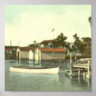 EUSTIS, FL,  Waterfront, - 1907 Poster