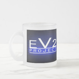 EV2 Project Frosted Mug! Frosted Glass Mug