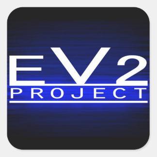 EV2 Project Stickers! Square Sticker