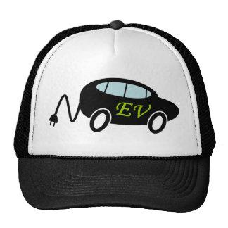 EV car with plug Hats