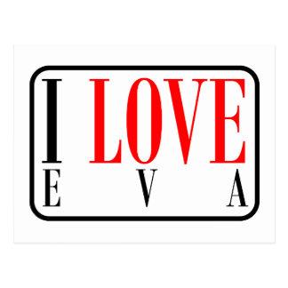 Eva, Alabama Postcard