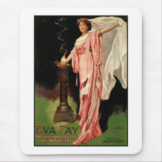 Eva Fay ~ The High Priestess of Mysticism Mouse Pad