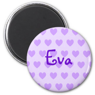 Eva in Purple Magnet