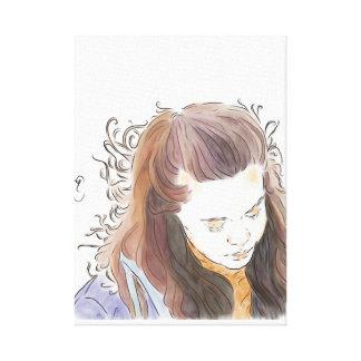 Eva Mohn Canvas Print