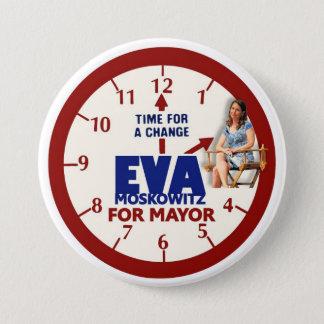 Eva Moskowitz for NYC Mayor 2013 7.5 Cm Round Badge