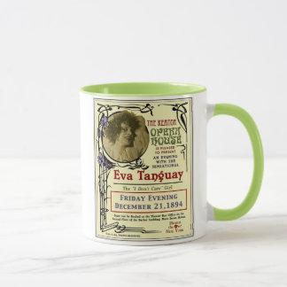Eva Tanguay Keator Opera House Art Nouveau Poster Mug