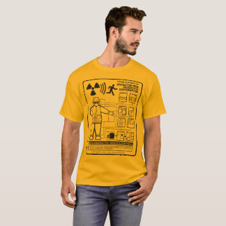EVACUATION FROM RADIOACTIVE CONTAMINATION T-Shirt