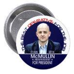 Evan McMullin 2016 7.5 Cm Round Badge