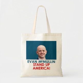 Evan McMullin - Stand up America! Budget Tote Bag