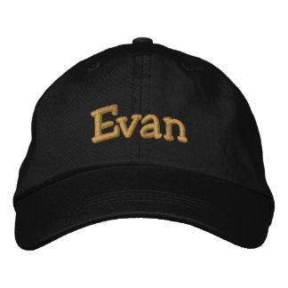 Evan Personalized Baseball Cap Hat