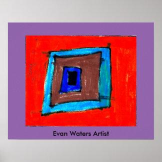 Evan Waters Artist Poster