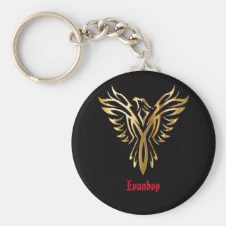 Evanbop Button Keychain