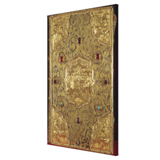 Evangelical reliquary, Moscow School Canvas Print