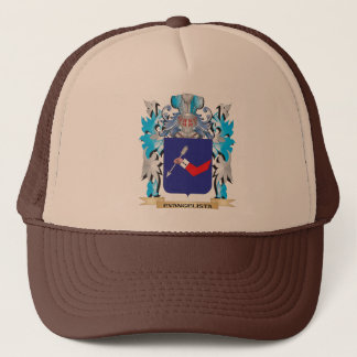 Evangelista Coat of Arms - Family Crest Trucker Hat