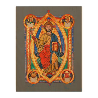 Evangelistar von Speyer Wood Prints
