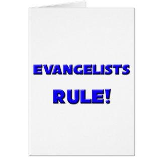 Evangelists Rule Greeting Card