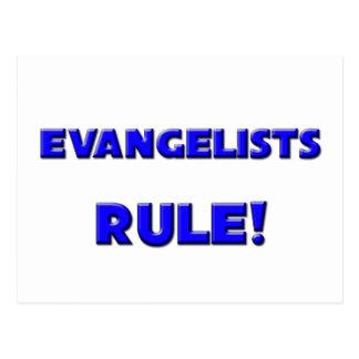 Evangelists Rule Post Card