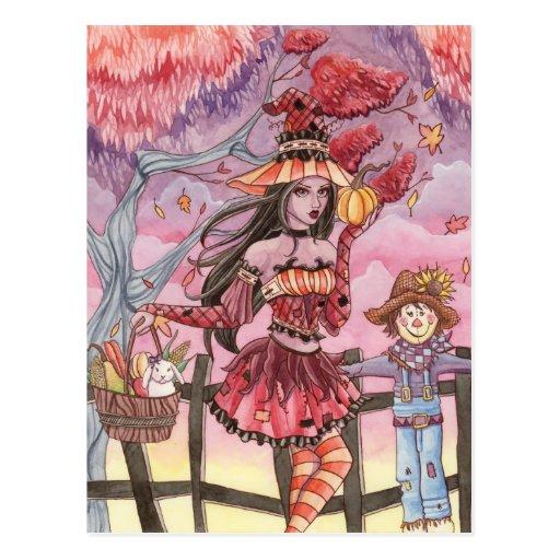 Evania - Witch Postcard