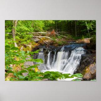 Evans Falls, Maine Poster