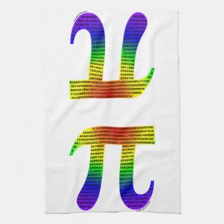 Evan's Pi #2 Tea Towel