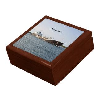 Evans Spirit square keepsake box