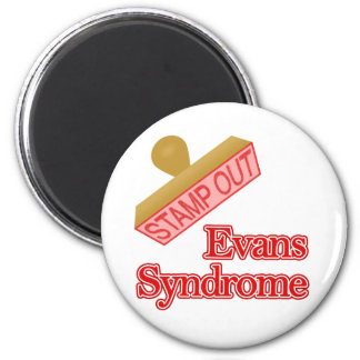 Evans Syndrome 6 Cm Round Magnet