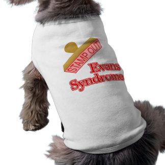 Evans Syndrome Dog Shirt