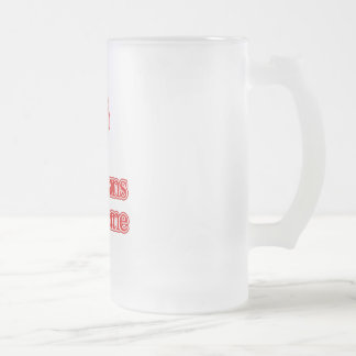 Evans Syndrome Frosted Glass Mug
