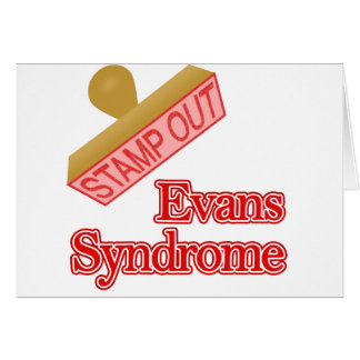Evans Syndrome Greeting Card