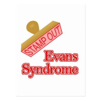 Evans Syndrome Postcard