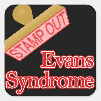 Evans Syndrome Square Sticker