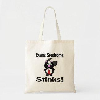 Evans Syndrome Stinks Skunk Awareness Design Canvas Bag