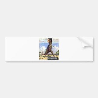 EVANSOURUSREX BUMPER STICKER