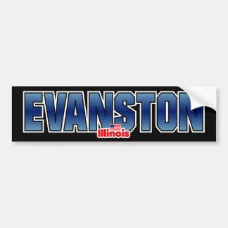 Evanston Bumper Bumper Sticker