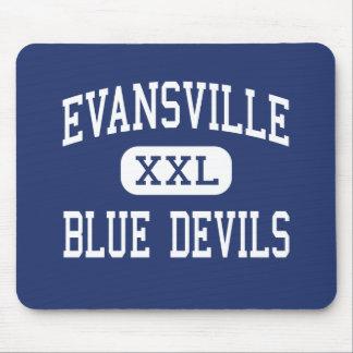 Evansville - Blue Devils - High - Evansville Mouse Mat