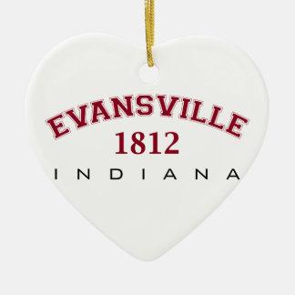 Evansville, IN - 1812 Christmas Ornament