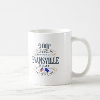 Evansville, Indiana 200th Anniversary Mug