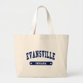 Evansville Indiana College Style tee shirts Canvas Bag