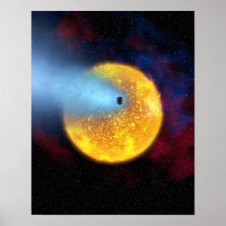 Evaporating Planet Print