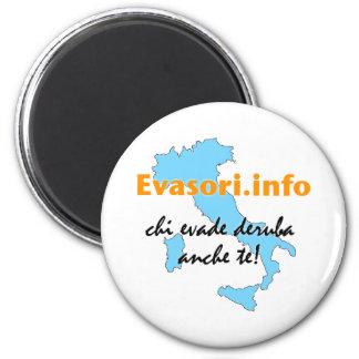 Evasori.info: calamita 6 cm round magnet
