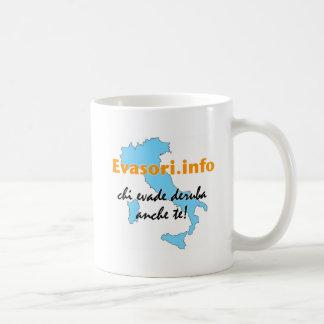 Evasori.info: tazza basic white mug