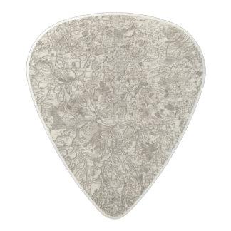 Evaux Acetal Guitar Pick