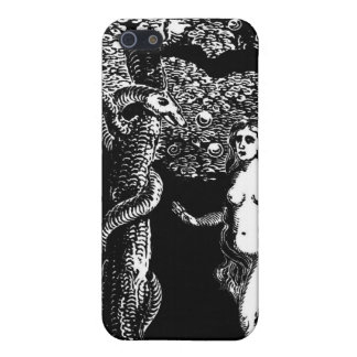 Eve and the Serpent iPhone 5/5S Cases