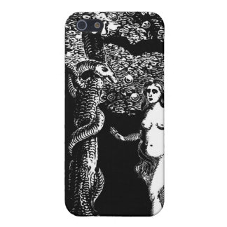 Eve and the Serpent iPhone 5 Covers