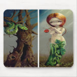 """""""Eve and the Tree of Knowledge"""" Mousepad"""