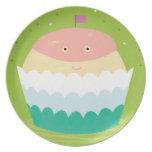 Eve Cupcake Plate Dinner Plates